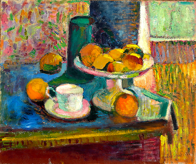 PictureStill Life with Compote, Apples, and Oranges by Henri Matisse