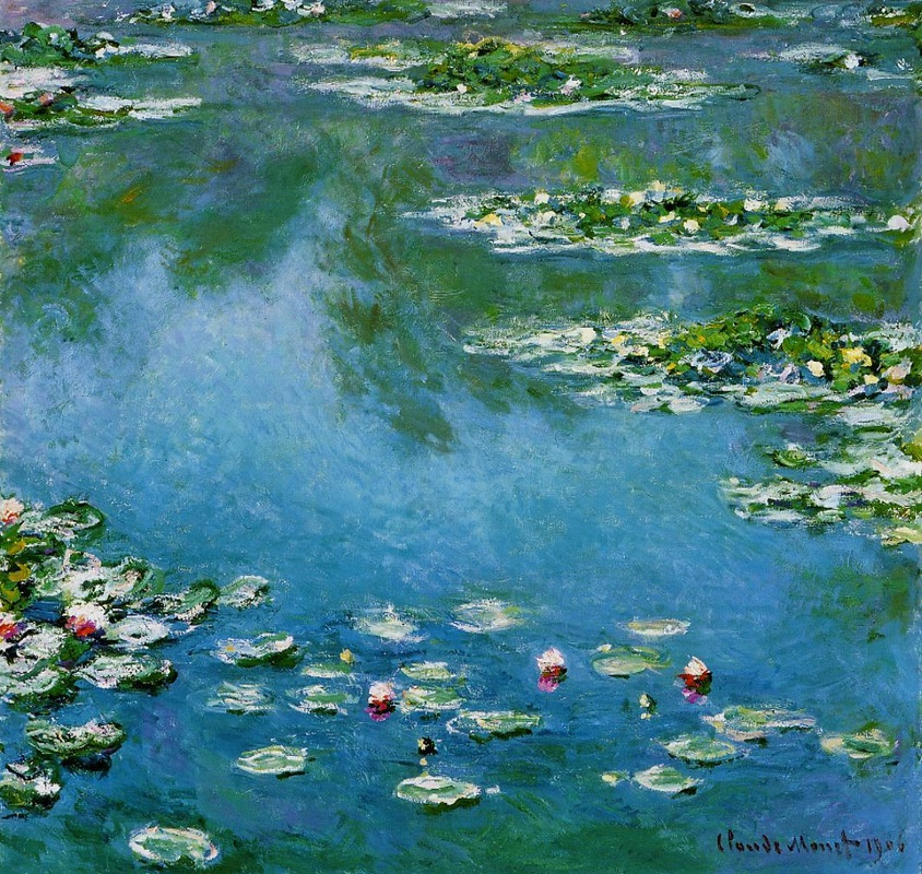 Water Lilies, 1906 by Claude Monet | Lone Quixote