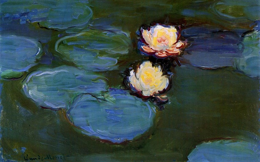 Water Lilies, 1897 by Claude Monet | Lone Quixote