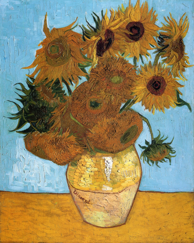 ​Vase with Twelve Sunflowers by Vincent van Gogh | Lone Quixote