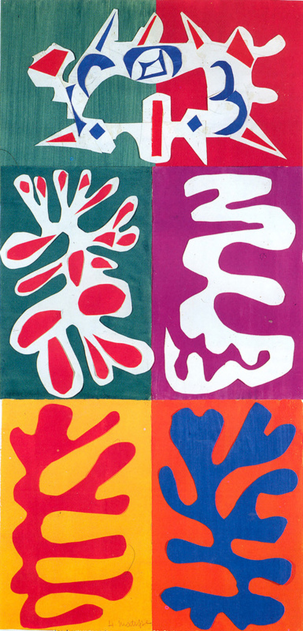 Panel with Mask by Henri Matisse
