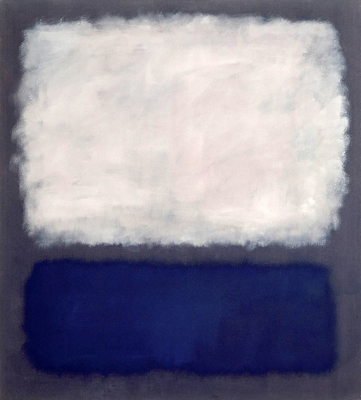 Blue and Gray by Mark Rothko | Lone Quixote