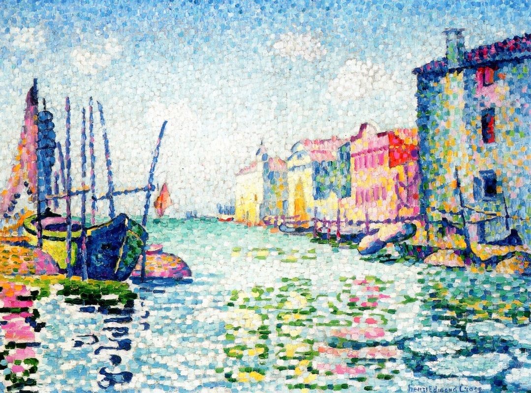 Canala Ponte Lungo by Henri-Edmond Cross