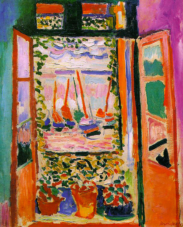 Open Window, Collioure by Henri Matisse