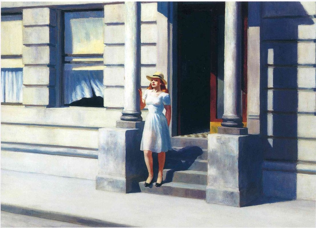 Summertime by Edward Hopper | Lone Quixote • @lonequixote |