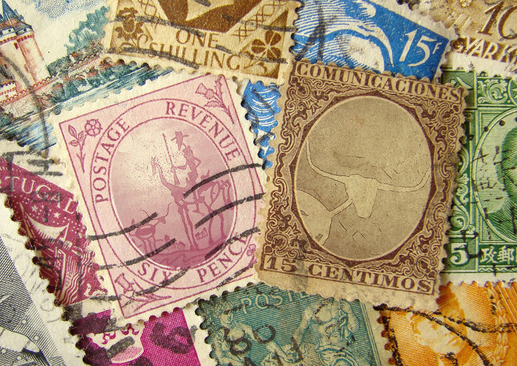 Postage Stamps and The Lone Quixote Letters