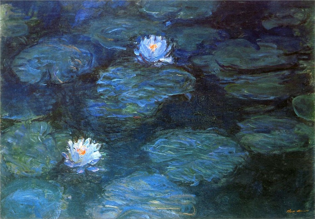 Water Lilies, 1899 by Claude Monet | Lone Quixote |