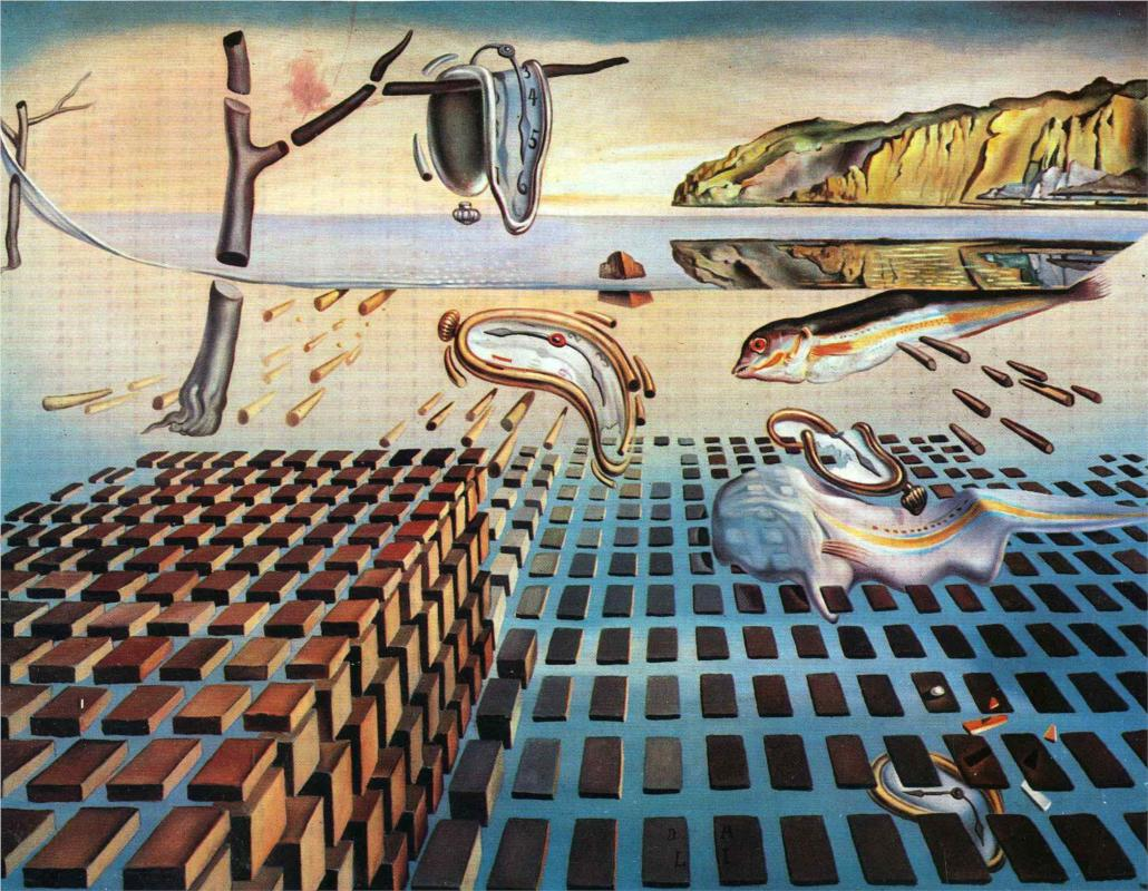 The Disintegration of the Persistence of Memory by Salvador Dali | Lone Quixote