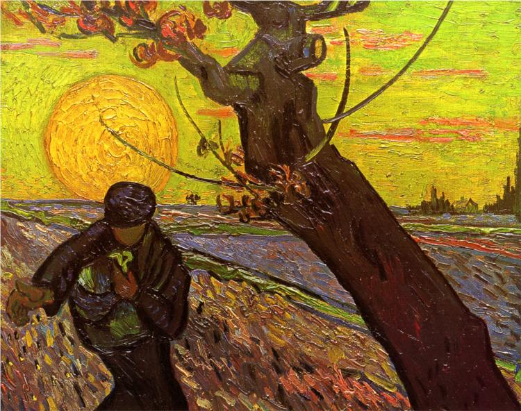 Sower by Vincent van Gogh