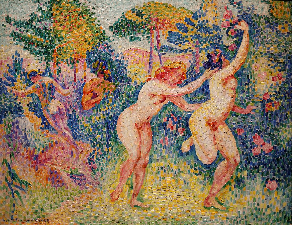 The Flight of the Nymphs by Henri-Edmond Cross | Lone Quixote