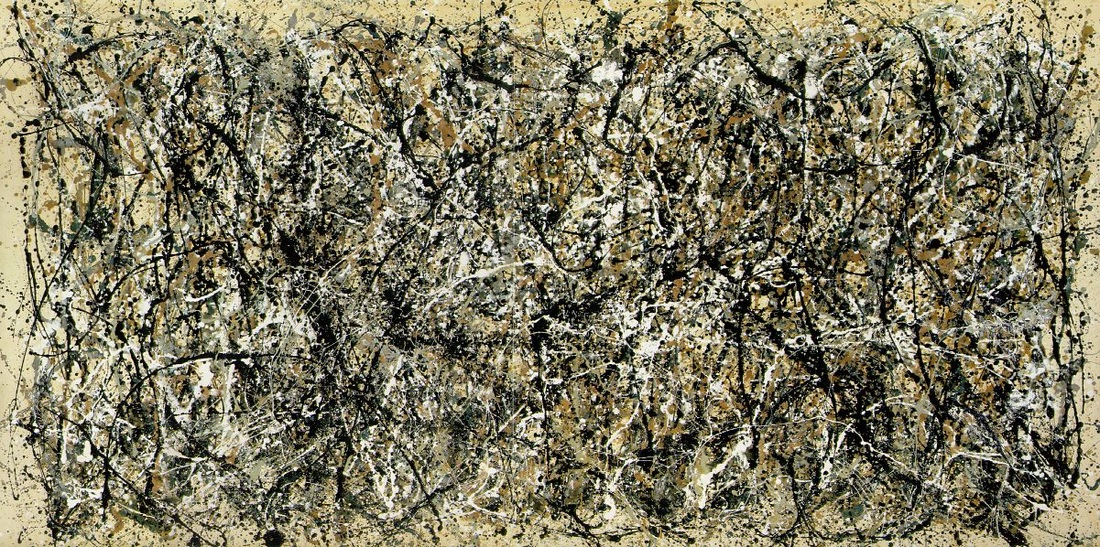 One (Number 31) by Jackson Pollock