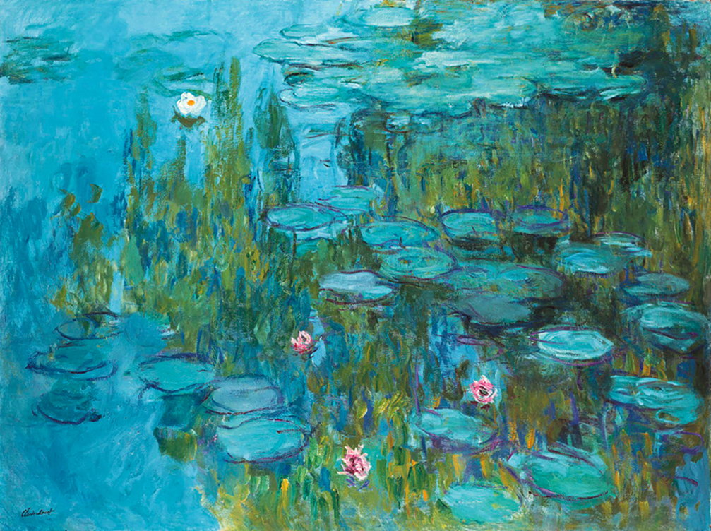 Water Lilies, 1915 by Claude Monet | Lone Quixote
