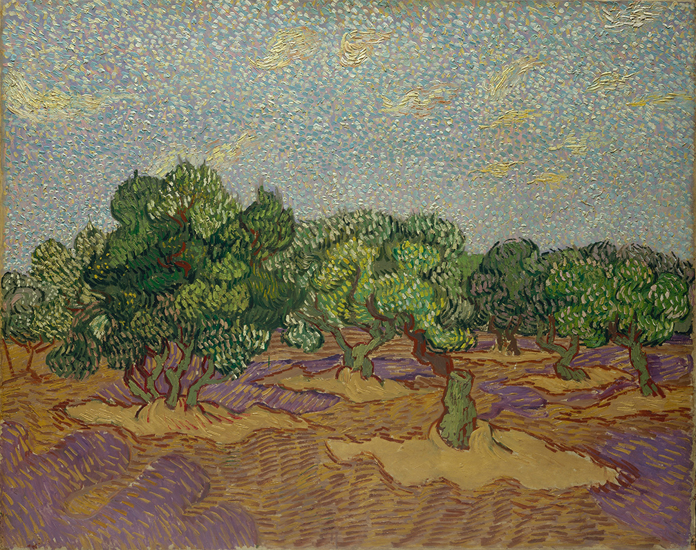 Olive Trees by Vincent van Gogh | Lone Quixote