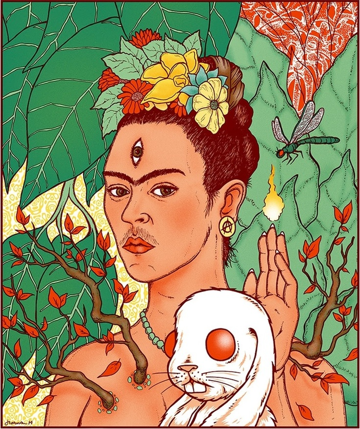 Cosmic Daughter (Frida) by Jermaine Rogers | Lone Quixote