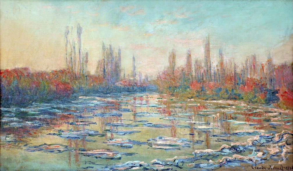 Floating Ice on the Seine by Claude Monet | Lone Quixote