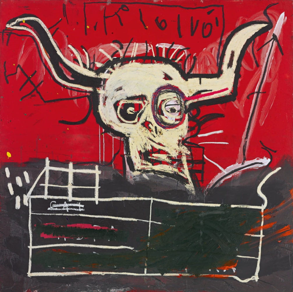 Cabra (1982) by Jean-Michel Basquiat