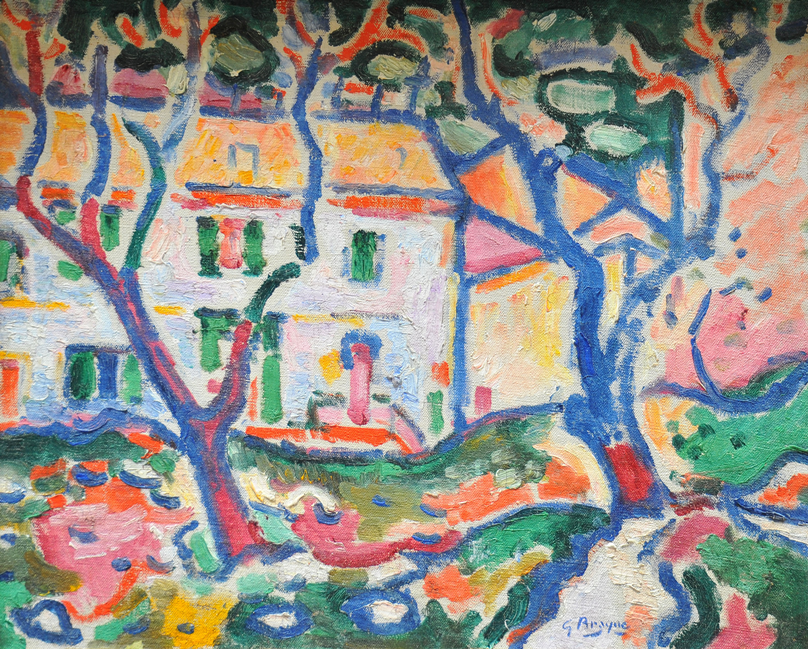 House behind Trees (1906) by Georges Braque