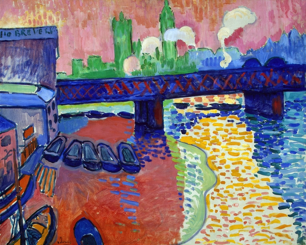 Charing Cross Bridge, London by Andre Derain