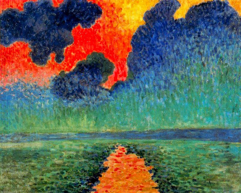 ​Effect Of Sun On The Water, London (1906) by Andre Derain