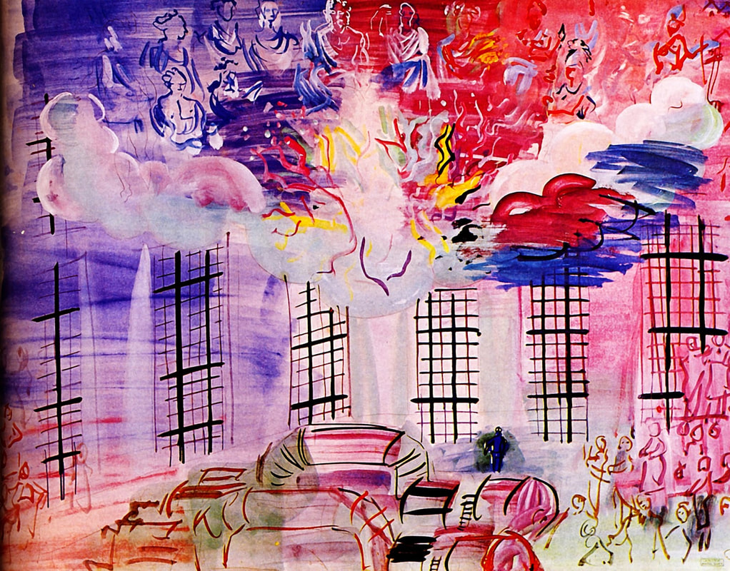 Electricity by Raoul Dufy