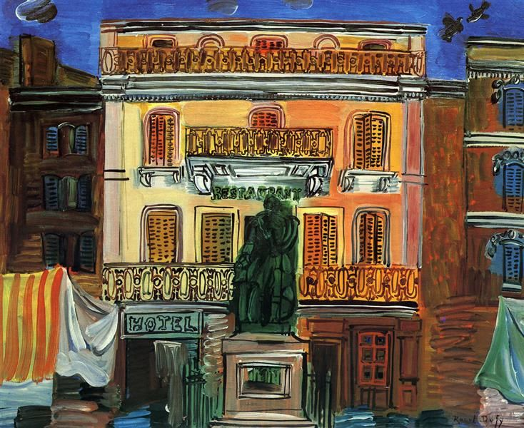 Hotel Sube (1926) by Raoul Dufy