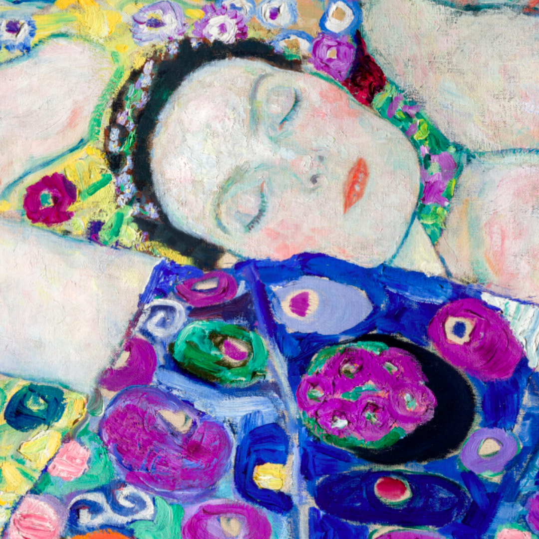 Virgin (detail) 1913 by Gustav Klimt