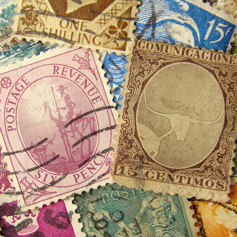 Every Letter Needs a Stamp - The Lone Quixote Letters