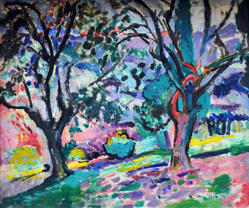 Olive Trees at Collioure (1906) ​by Henri Matisse