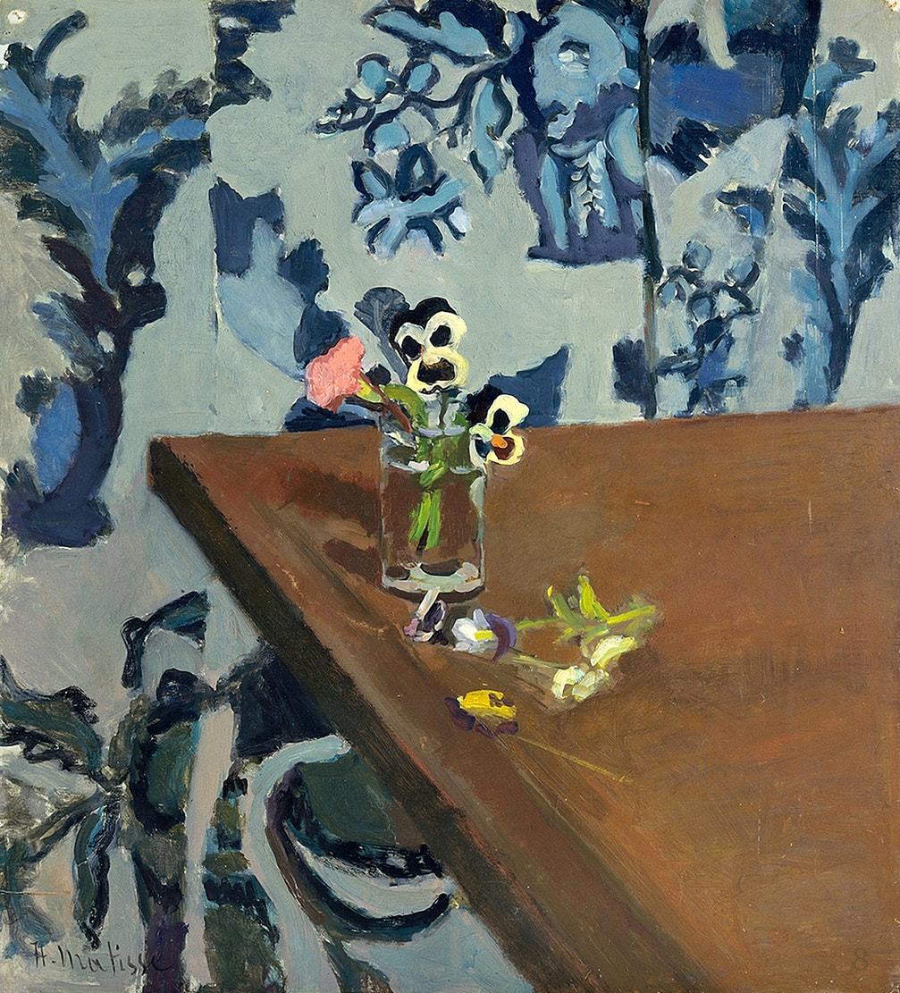 Pansies (1903) by Henri Matisse