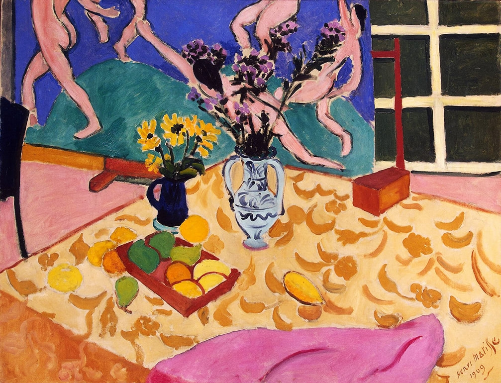 Still Life with The Dance (1909) by Henri Matisse