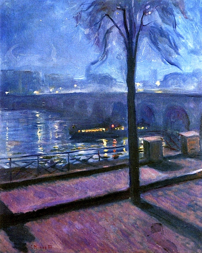 Night in Saint-Cloud (1890) by Edvard Munch