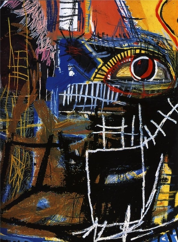 Head by Jean-Michel Basquiat