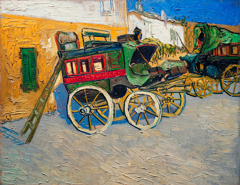 Tarascon Stage Coach (1888) by Vincent van Gogh