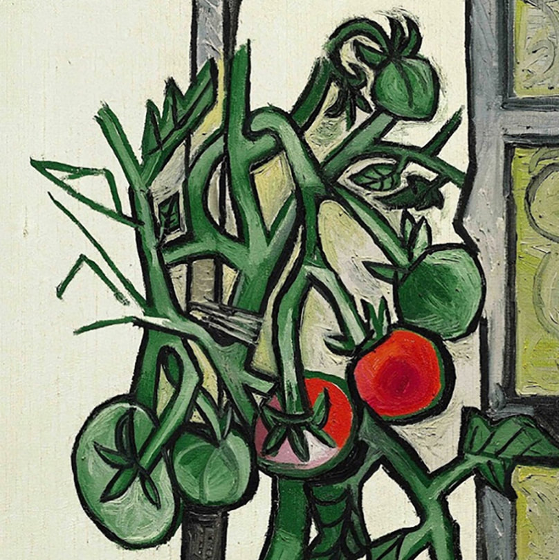 ​Tomato Plant (detail) [1944] by Pablo Picasso